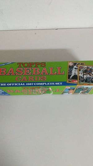 1987 Topps Baseball Cards Complete Set for Sale in Lithia, FL