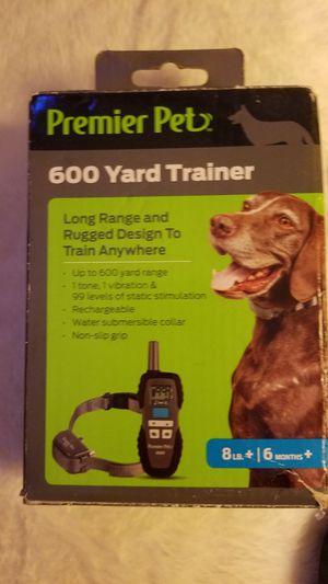 PREMIER PET TRAINING COLLAR for Sale in Atco, NJ
