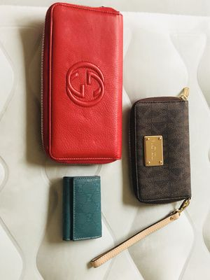 Designer wallet bundle Gucci and MK MUST GO TODAY!! for Sale in Dublin, OH