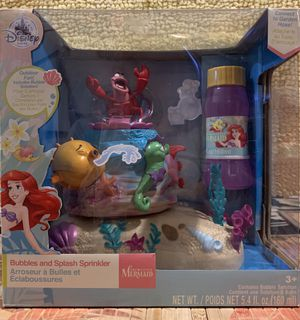 Disney's Ariel Bubble and Splash Sprinkler for Sale in Long Beach, CA