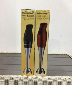 Hand Blender Kitchen Batidora Mezcladora Manual 2 velocity Brentwood HB-33BK for Sale in Miami,  FL