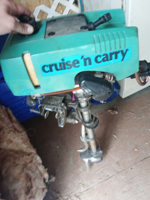 Cruise and carry boat motor for Sale in Elma, WA