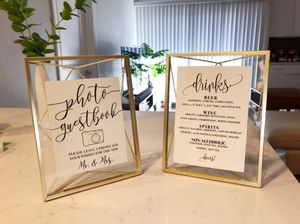 Umba Prisma Picture Frame in Brass - 5x7 for Sale in Los Angeles, CA