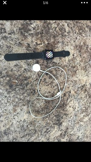 Apple Watch series 2 Nike beautiful condition I don't use I any more is a 42mm face for Sale in Hialeah, FL