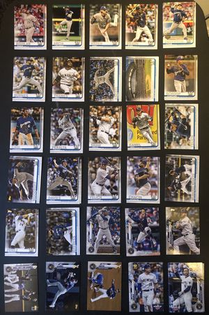 Milwaukee Brewers Baseball Cards (105 Total Cards) for Sale in San Jose, CA