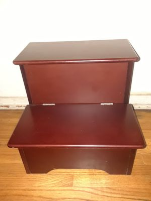 Small Cherrywood Pet Steps for Sale in Pasadena, TX