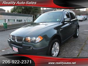 2005 BMW X3 for Sale in Seattle, WA