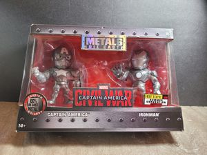 Jada Toys Die-Cast Metals Captain America Iron Man for Sale in San Diego, CA