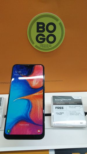 $125 Samsung Galaxy A20 when you switch over to Boost Mobile @Boost Mobile West Oak Mall for Sale in Ocoee, FL