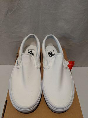 White Slip on Vans Men's 8.0 or Womens 9.5 for Sale in Phoenix, AZ