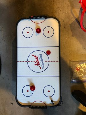 Table top air hockey game from Land of Nod for Sale in Mercer Island, WA