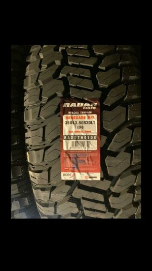 ALL 4 NEW SET OF TIRES 35 1350 20 for Sale in Phoenix, AZ