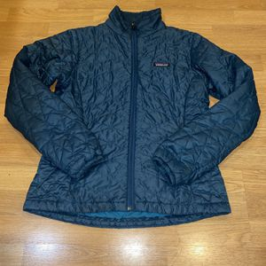Patagonia Nano Puff Women M Blue Jacket for Sale in Portland, OR