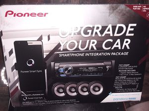 Pioneer Stereo Bundle for Sale in Alexandria, LA