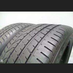Pair of 275 35 21 Pirelli PZERO with 80% Tread 7/32 103Y 7070 for Sale in Miami, FL
