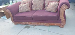 Dinner table & big sofa and love seat for sale make me an offer for Sale in Livingston, CA