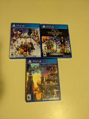 Kingdom Hearts PS4/PS5 Complete Series Physical for Sale in Palm Springs, CA