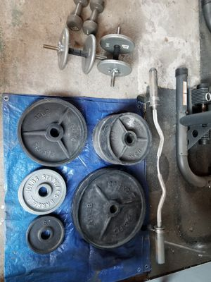 Weights!!! 290lbs for $300 for Sale in Los Angeles, CA
