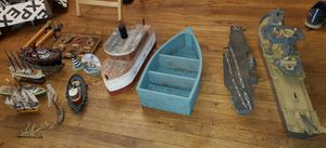 Lot of Nautical Decorations. Ship boats and more for Sale in Rockville, MD