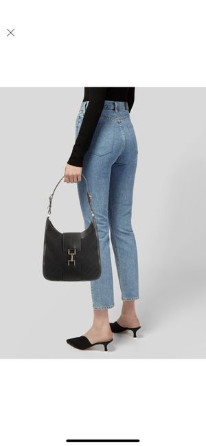Gucci Leather-Trimmed GG Canvas Bag for Sale in Los Angeles, CA