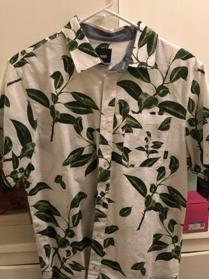 Vans Button up Men's (Size small) Never worn for Sale in Montebello, CA