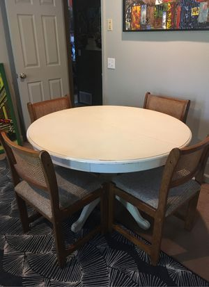 Table and 4 chairs! for Sale in Seattle, WA