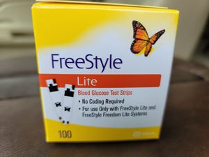 Freestyle Lite Blood Glucose Test Strips for Sale in Hawthorne, CA
