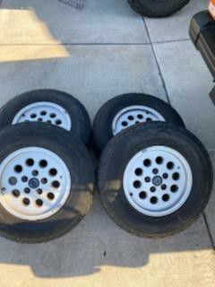 Jeep Cherokee wheels 15x7, 5x4.5. 235/75R15 for Sale in San Diego, CA