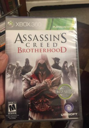 ASSASSIN'S CREED BROTHERHOOD game XBOX 360 for Sale in Malden, MA