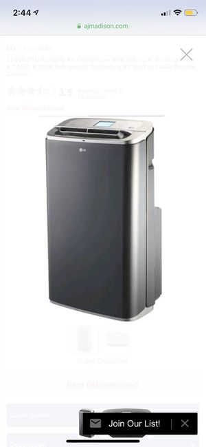 LG Freestanding Air Conditioner for Sale in Portland, OR