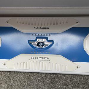 PYLE PLMRA820 Elite Series Waterproof Bridgeable 3000 Watt Amplifier for Sale in Austin, TX