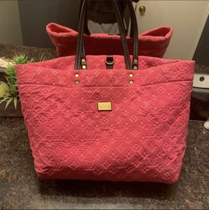 Authentic Louis Vuitton Pink Scuba Neverfull GM Tote Bag for Sale in Culver City, CA