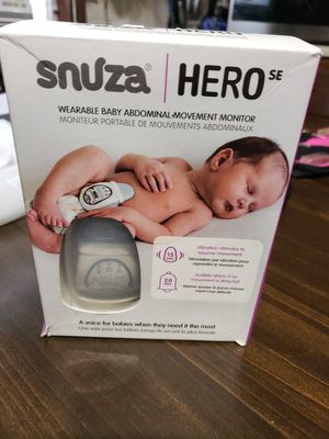 Snuza hero. baby monitor for Sale in Elyria, OH