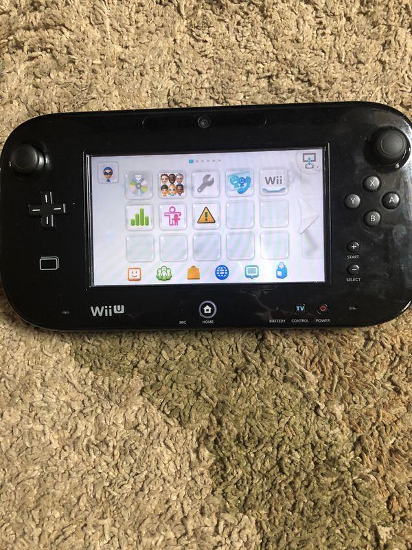 Nintendo Wii U lightly used