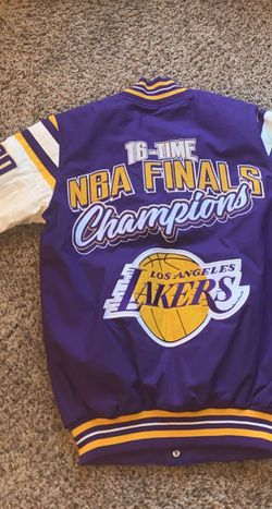 Lakers Varsity Jacket 16-Time Champions for Sale in Kennesaw,  GA