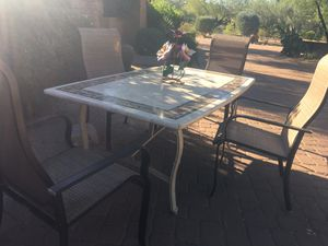 Table and chairs for Sale in Scottsdale, AZ