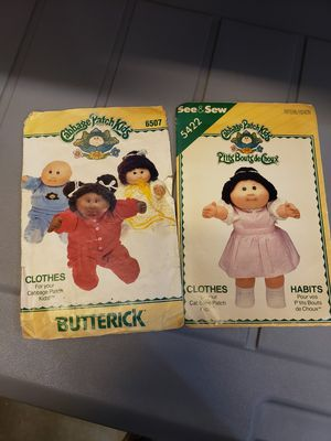 Vintage Cabbage Patch Doll Patterns for Sale in Lakeside, CA