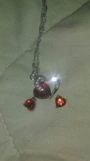 Ear ring and necklace for Sale in Crab Orchard, WV