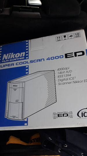 super coolscan 4000 ed for Sale in Seattle, WA