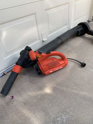 Black & Decker Leaf Hog leaf blower for Sale in Scottsdale, AZ