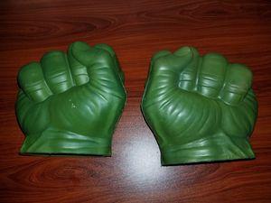 Marvel Avengers Incredible Hulk Foam/Rubber Fists for Sale in Virginia Beach, VA