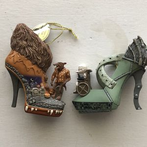 Dr. Finkelstein And The Wolfman Shoe Ornaments for Sale in Mission Viejo, CA