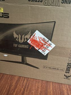 Asus Tuf Gaming Curved Monitor 27 Inch for Sale in Cornelius,  OR