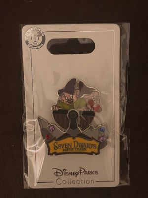 (NEW) Disney Parks Collection (Seven Dwarves Mine Train) Attraction Pin for Sale in Davenport, FL