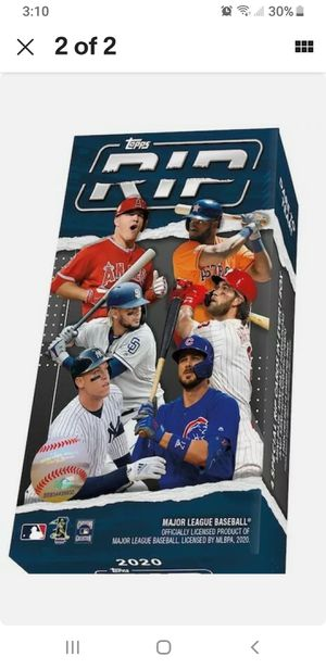 2020 Topps RIP SEALED BOX 4 RIP Cards Per Box for Sale in Palm Harbor, FL