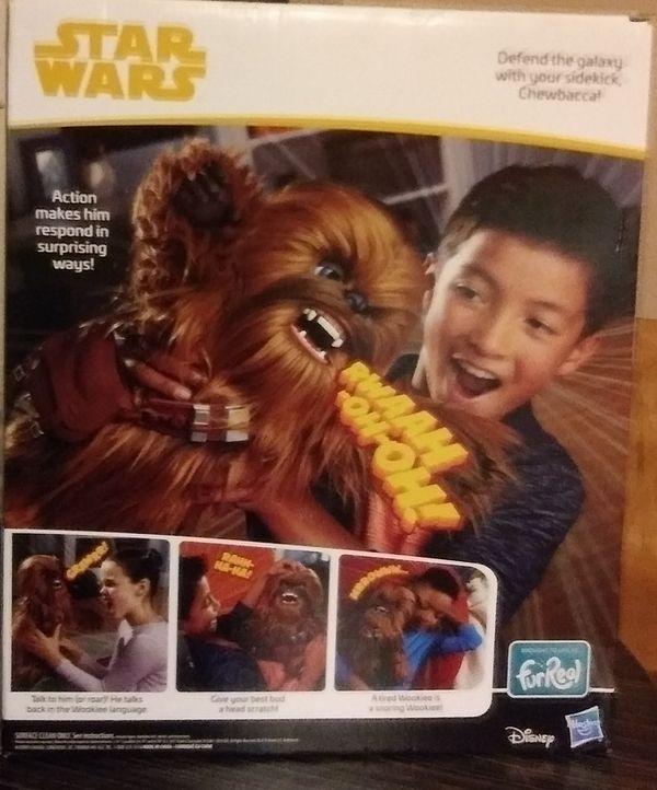 StarWars Fur Real Friends Chewbacca!