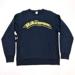 2001 BAPE A BATHING APE Creeper Collection Crewneck Sweater Jumper Blue Yellow M for Sale in Tracy, CA