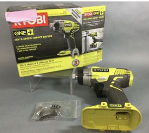 Ryobi P237 18-Volt 3-Speed 1/4 in. Impact Driver (Tool Only) New Open Box for Sale in St. Petersburg, FL