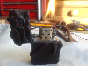 Leather covered Zippo lighter for Sale in Modesto, CA