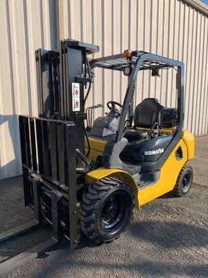 Komatsu Pneumatic Forklift for Sale in Fresno, CA